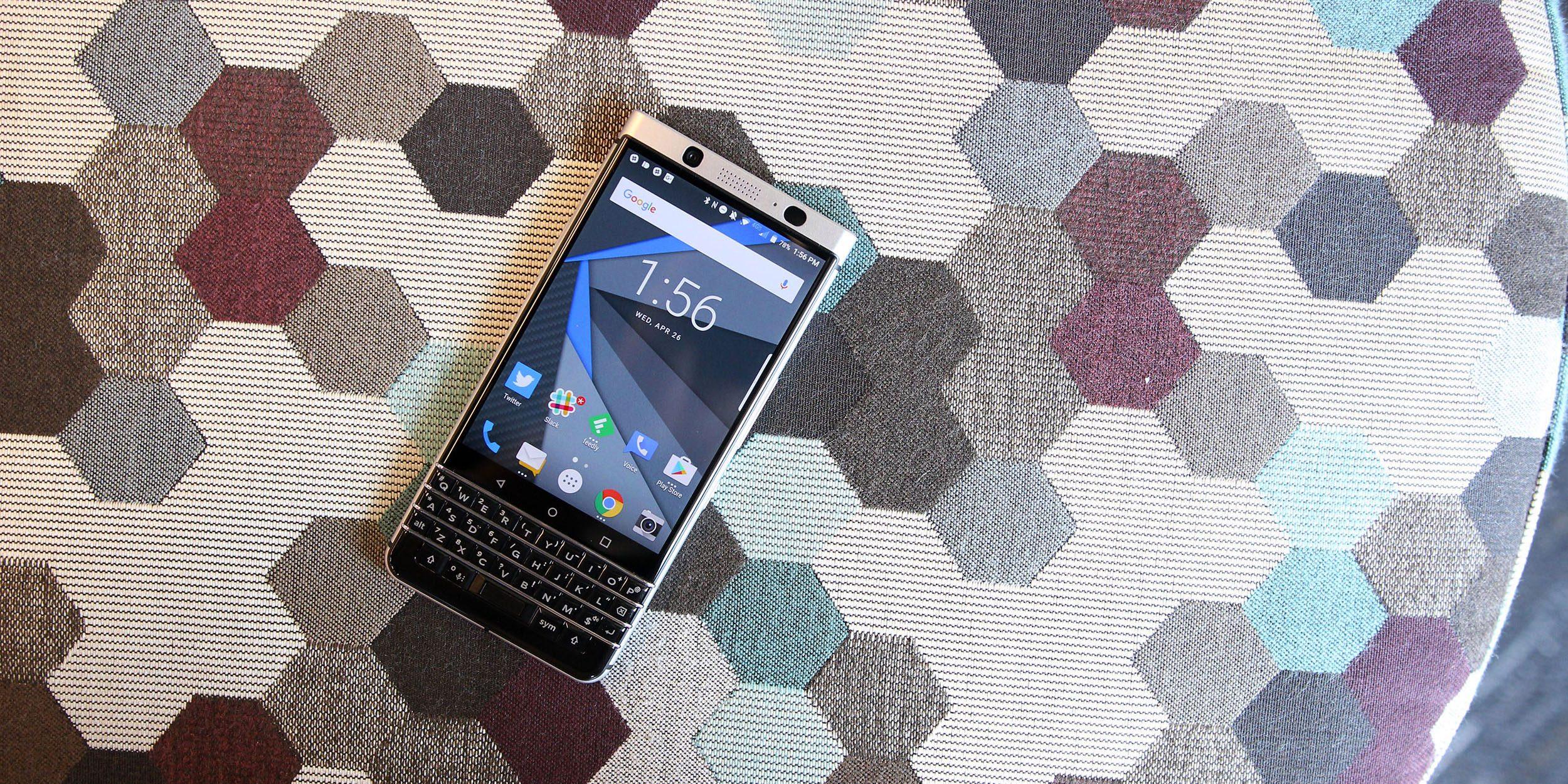 Android do BlackBerry smartphones deixará de ser vendido em agosto de 2020
