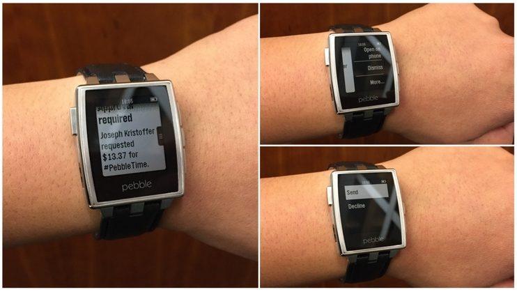 próximos 2.3 A atualização do Pebble traz notificações acionáveis do Android Wear e muito mais