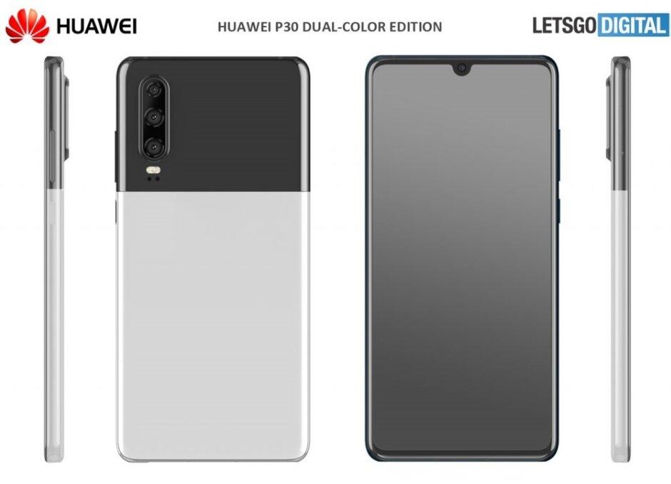 Espere o que?  É este o pixel 2 XL Panda?  Não, é outra nova opção de cor para o Huawei P30 - o Huawei P30 pode receber duas novas opções de cores na próxima semana