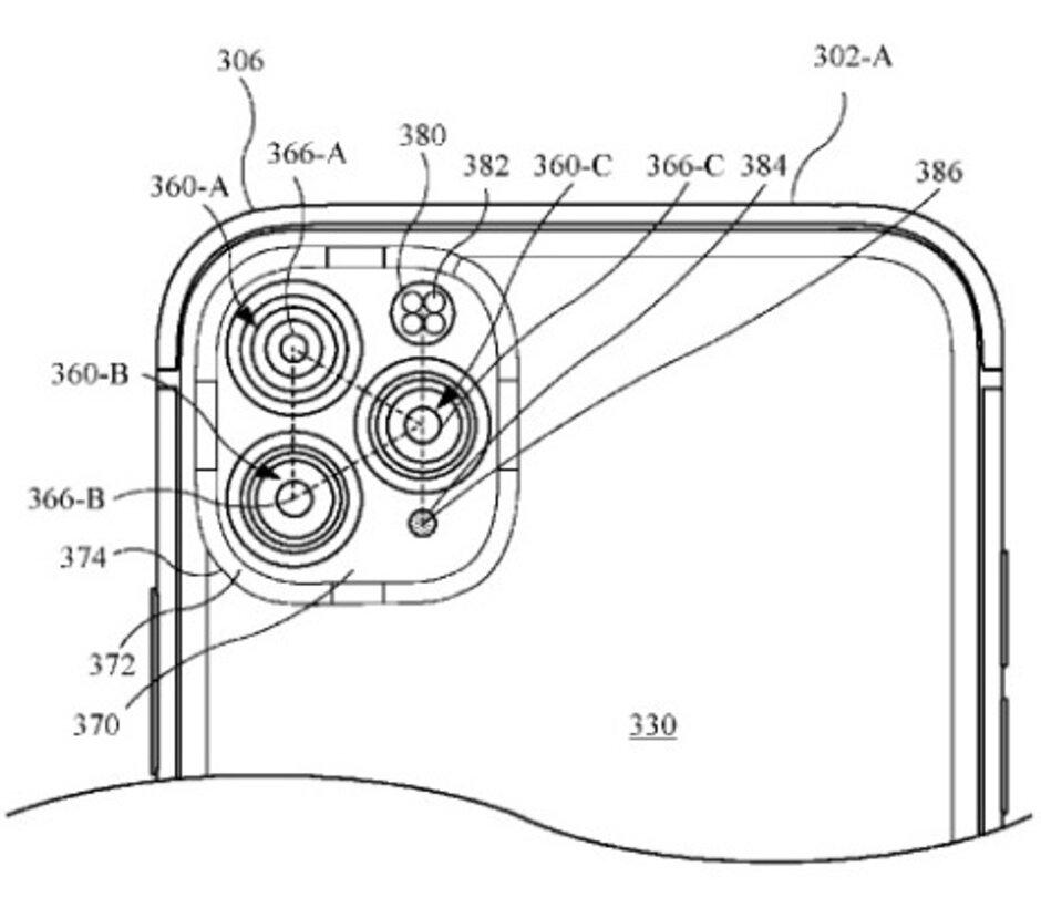 Apple  considerou o design deste módulo de câmera ... - Não gosta dos módulos de câmera nos modelos atuais do iPhone?  Poderia ter sido pior