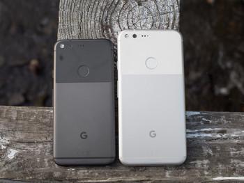 Google Pixel (à esquerda) e Google Pixel XL (à direita) - Revisão do Google Pixel
