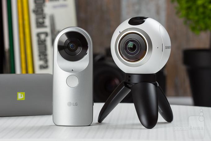 Samsung Gear 360 vs LG 360 Cam: comparação