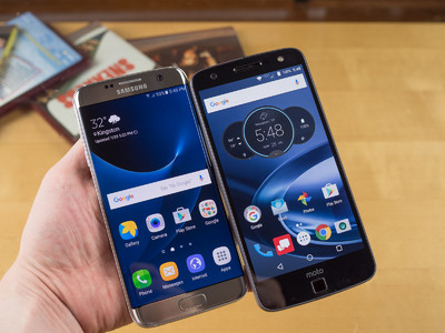 Moto Z Force Droid vs Samsung Galaxy Borda S7
