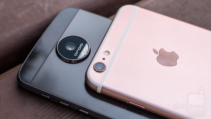 Vs Moto Z Force Droid Apple iPhone 6s Plus