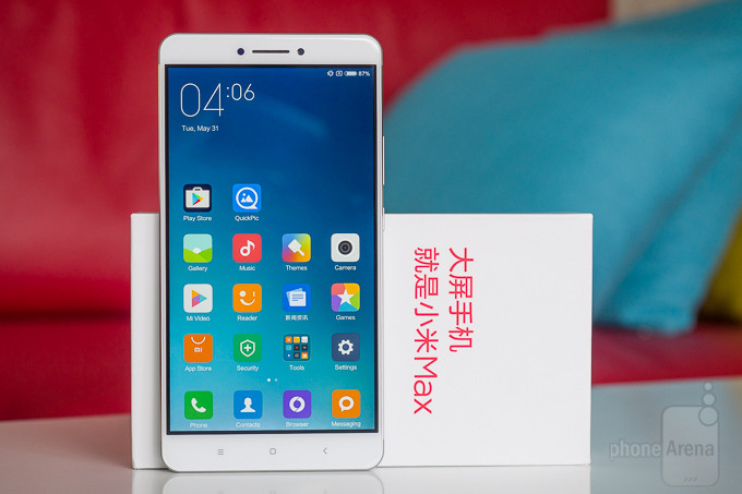 Avaliação do Xiaomi Mi Max