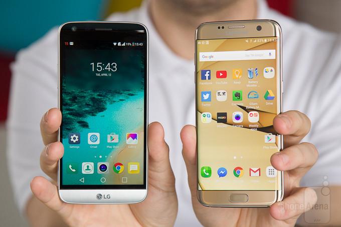 LG G5 vs Samsung Galaxy Borda S7