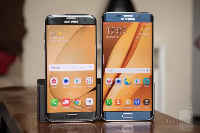 Samsung Galaxy Samsung S7 edge vs Galaxy Borda S6 +