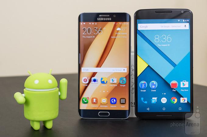 Samsung Galaxy S6 edge + vs Google Nexus 6