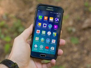 Equipamento de armadura urbana para Samsung Galaxy Revisão do caso S6