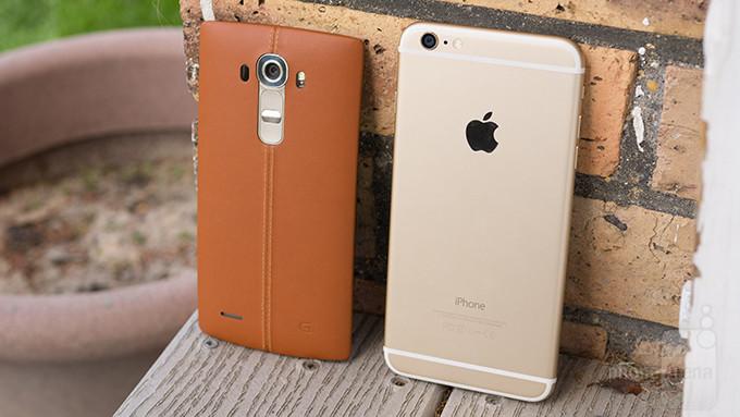 LG G4 vs Apple Iphone 6 Mais