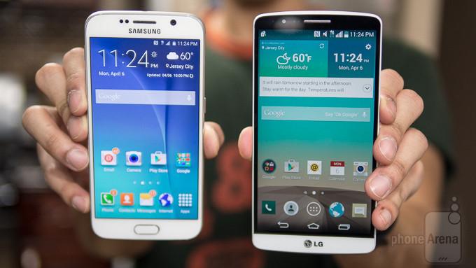 Samsung Galaxy LG G3 vs S6