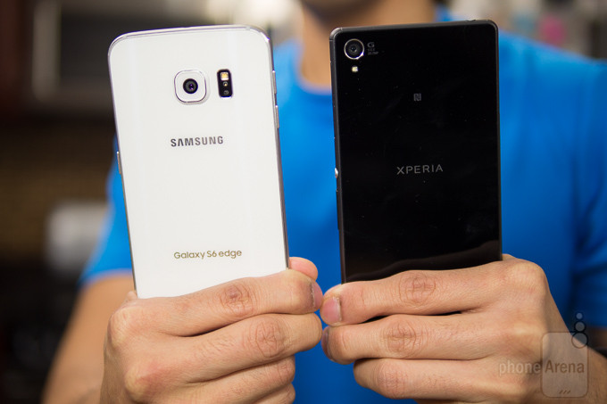 Samsung Galaxy Sony Xperia Z3 vs S6 edge