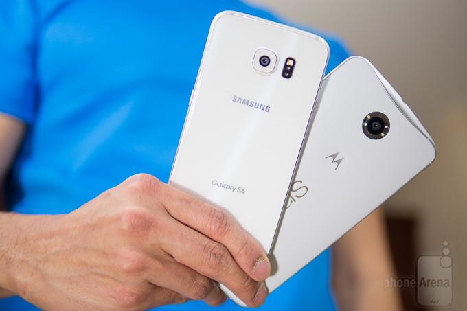 Samsung Galaxy Google Nexus vs S6 6