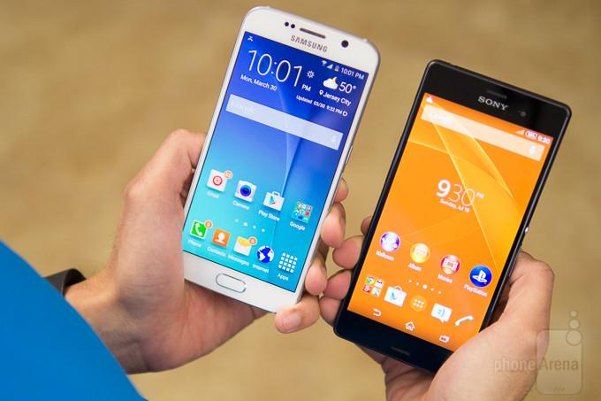 Samsung Galaxy Sony Xperia Z3 vs S6