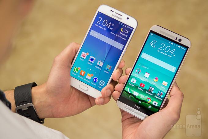 Samsung Galaxy HTC One M9 vs S6