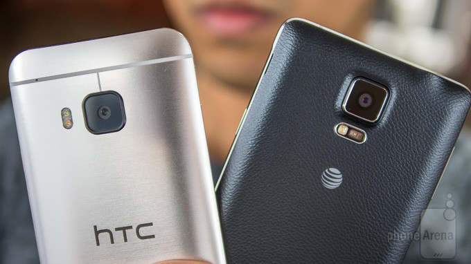 HTC One M9 vs Samsung Galaxy Nota 4