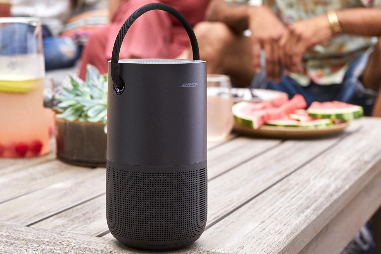 A Bose anuncia novo alto-falante doméstico portátil com Google Assistant, Alexa e AirPlay 2 Apoio, suporte