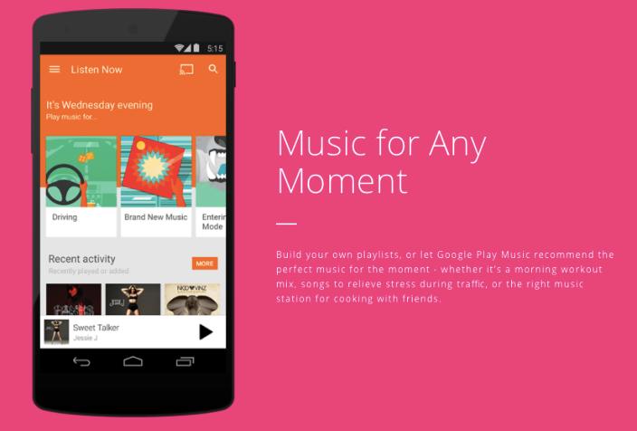 A T-Mobile adiciona o Google Play Music (e outros serviços) ao seu programa Music Freedom