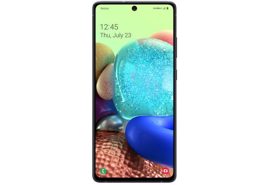 A Verizon faz o razoável Samsung Galaxy A71 5G UW preço e data de lançamento oficial