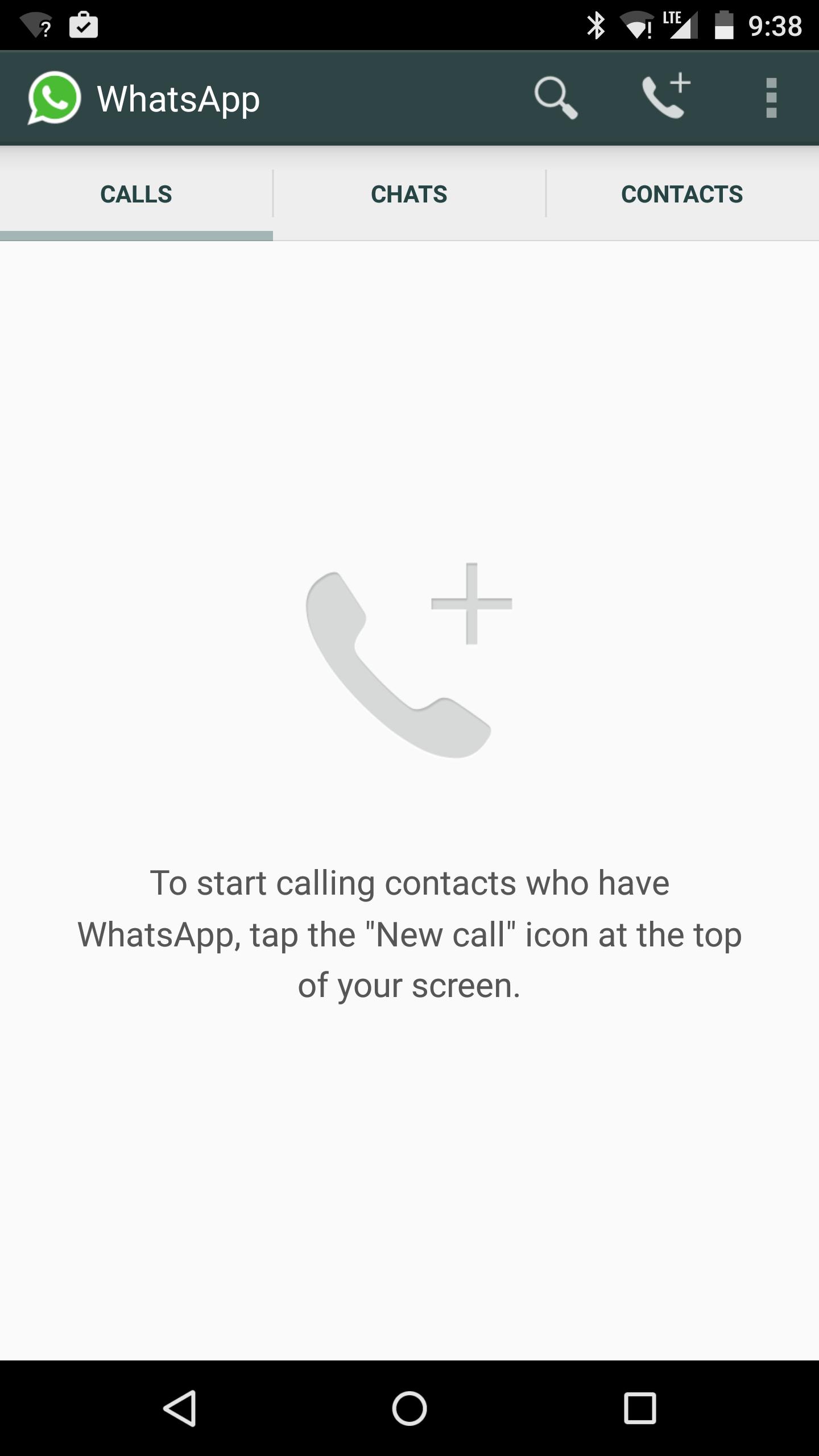 A versão mais recente do WhatsApp para Android finalmente permite que todos os usuários façam chamadas VoIP