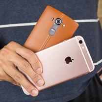 Apple iPhone 6s Plus vs LG G4 1