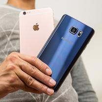 Apple iPhone 6s Plus vs Samsung Galaxy Nota 5 1
