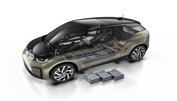 baterias de carro elétrico substituíveis