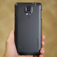 Capa Spigen Thin Fit para Samsung Galaxy Nota 4 Reveja 1