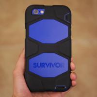 Caso todo o terreno do Griffin Survivor para Apple Iphone 6 Revisão Plus