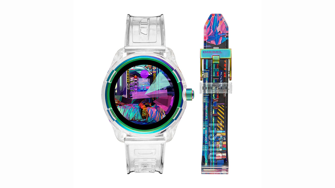 Diesel estreia smartwatch Fadelite transparente