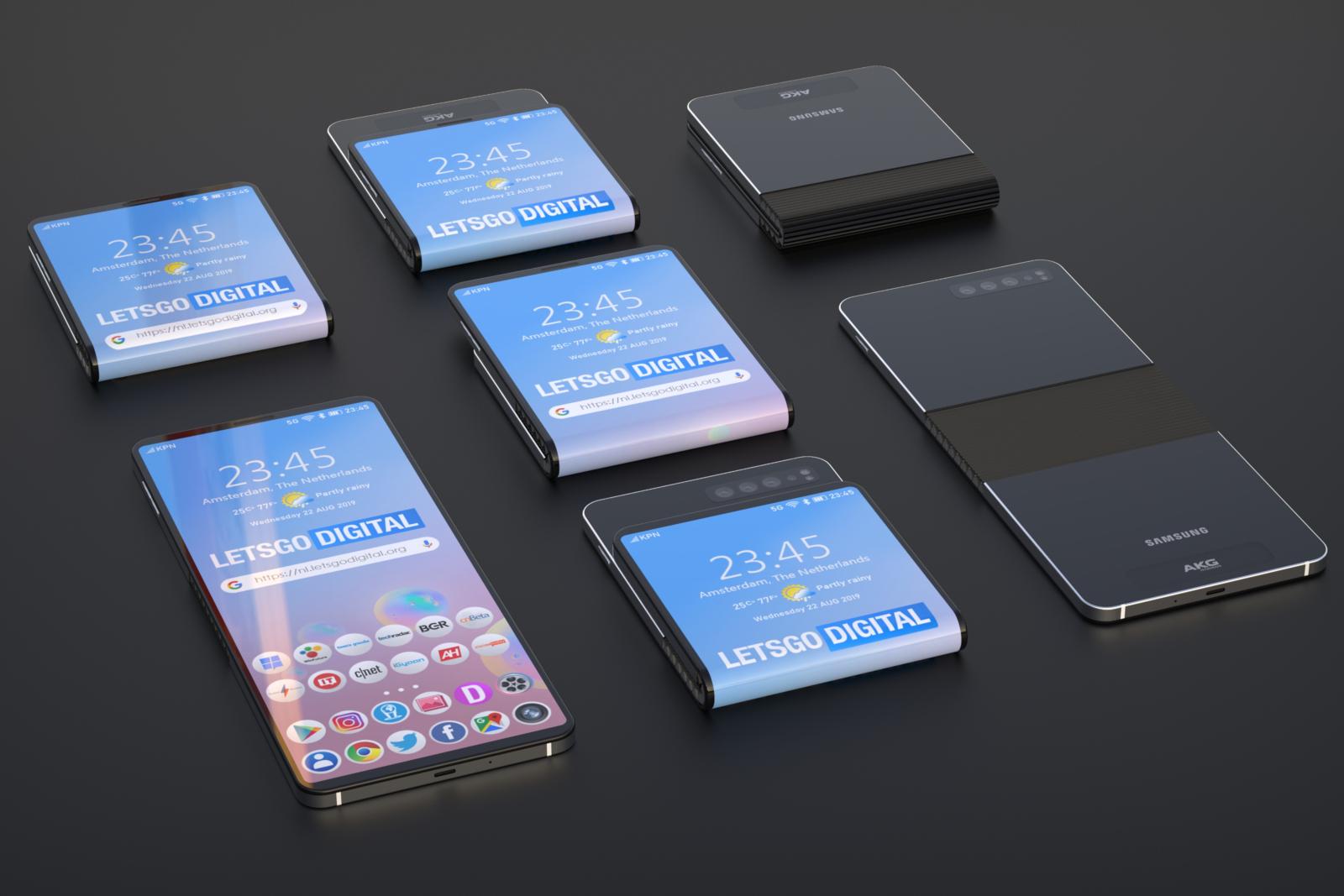 Galaxy Fold 2  'Bloom' será lançado em abril ... e a Samsung está dividida com o tamanho da tela 1