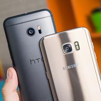 HTC 10 vs Samsung Galaxy Borda S7 1