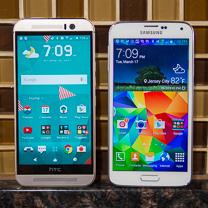 HTC One M9 vs Samsung Galaxy S5 1