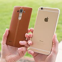 LG G4 vs Apple Iphone 6 Mais 1