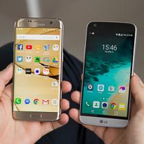 LG G5 vs Samsung Galaxy Borda S7 1