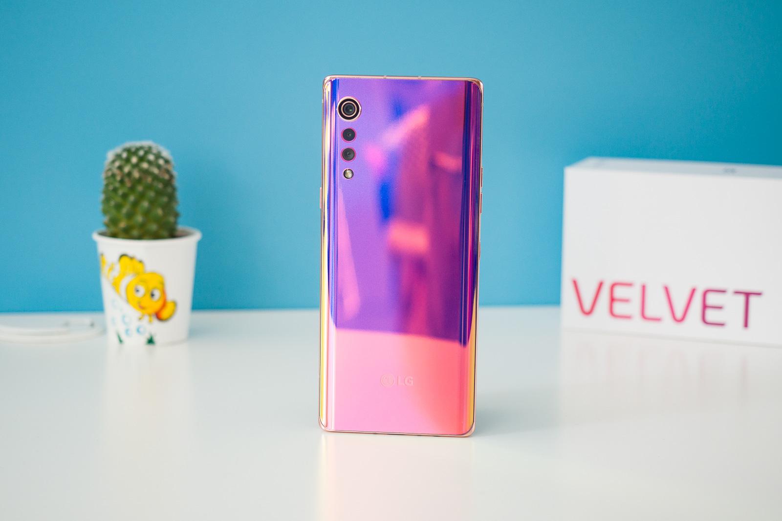 LG Velvet: teste de duração da bateria completo