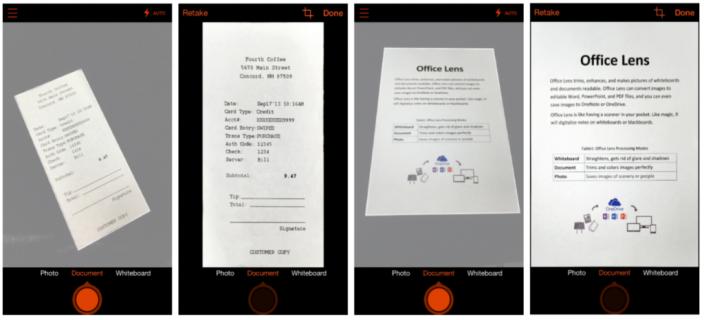 Microsoft traz seu scanner OneNote para Android com visualização da Office Lens
