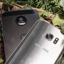 Moto Z Force Droid vs Samsung Galaxy Borda S7 1