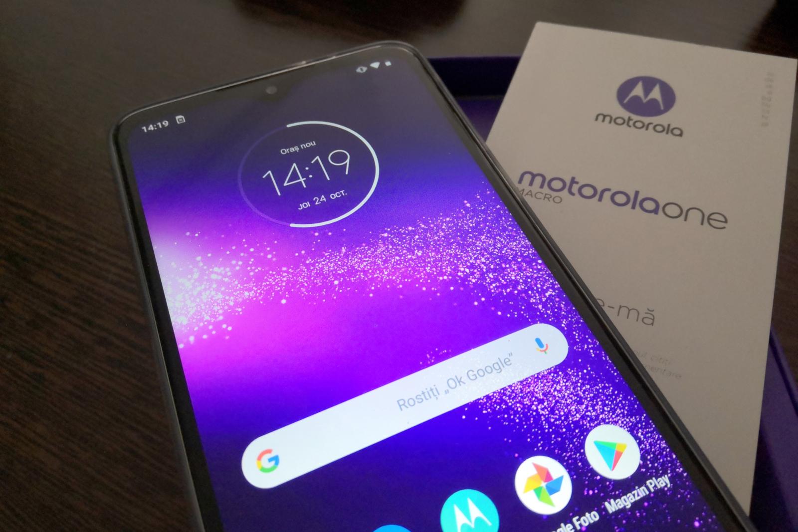 Motorola One Macro: primeiras amostras de câmera