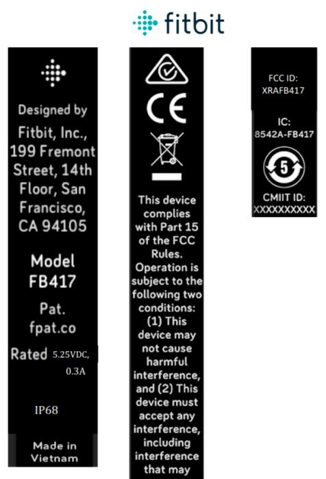 Novo rastreador de fitness Fitbit chega à FCC