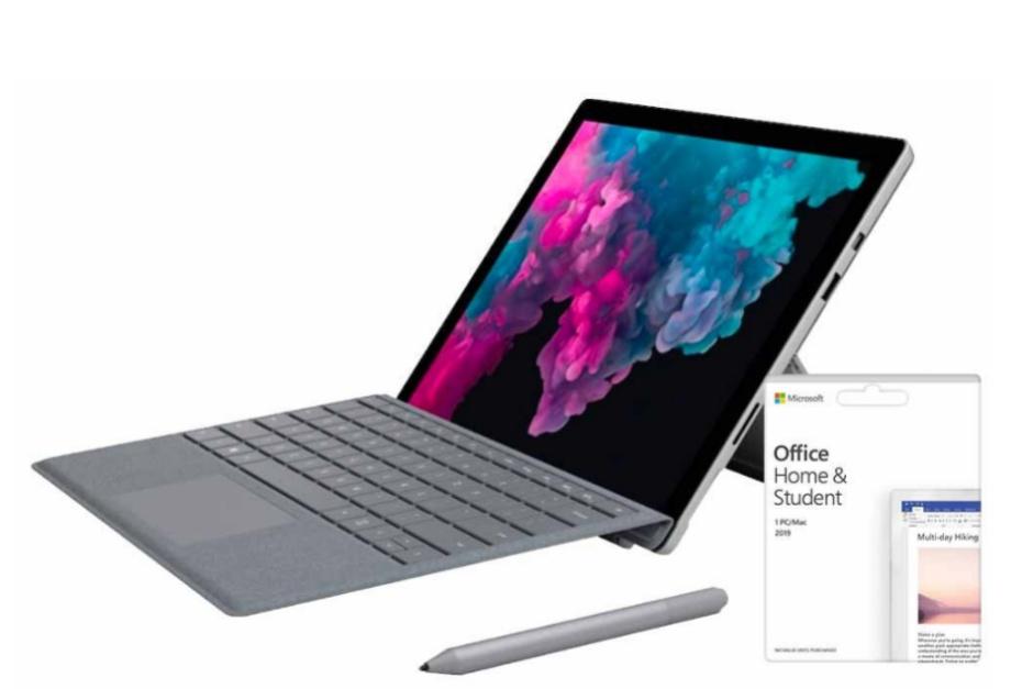 O 2017 Surface Pro da Microsoft está à venda com um grande desconto incluído no Office e em um teclado 1