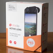 Revisão da lente ativa Olloclip