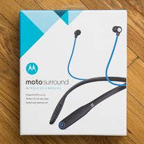 Revisão do Moto Surround 1