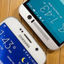 Samsung Galaxy HTC One M9 vs S6 1
