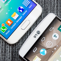 Samsung Galaxy LG G3 vs S6 edge