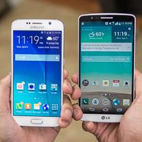Samsung Galaxy LG G3 vs S6 1