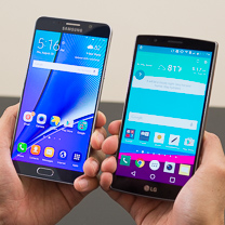 Samsung Galaxy Note5 vs LG G4 1