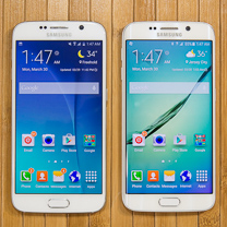 Samsung Galaxy S6 vs Samsung Galaxy Borda S6 1