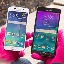Samsung Galaxy S6 vs Samsung Galaxy Nota 4
