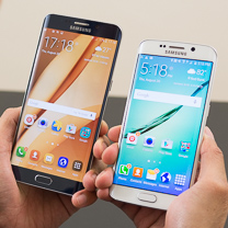 Samsung Galaxy Samsung S6 edge + vs Galaxy Borda S6 1
